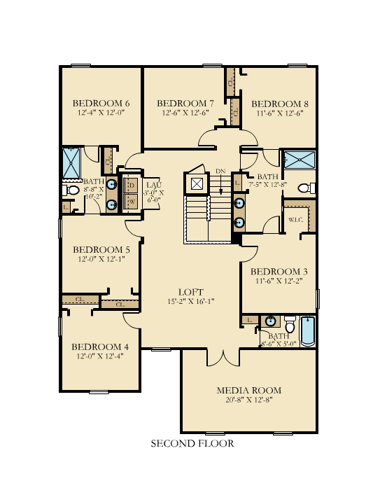 Maui House Floor Plan Level 1
